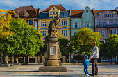 istock Central square of Ostrava city 1266605593