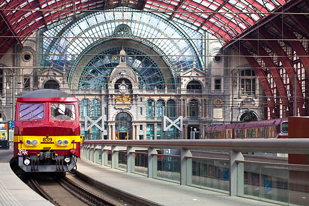 La gare centrale d'Anvers, Belgique - Photo