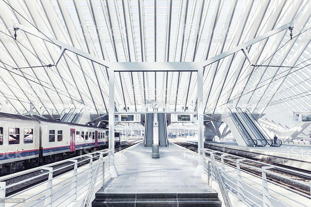 Central Station in Liege, Belgium