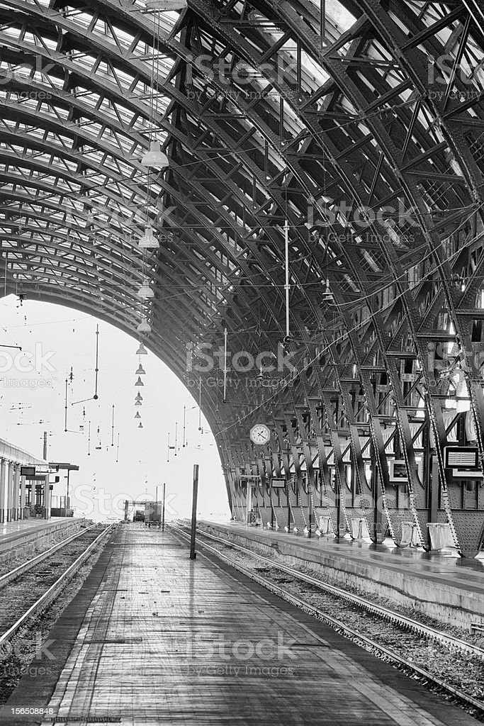 Stazione centrale royalty-free stock photo