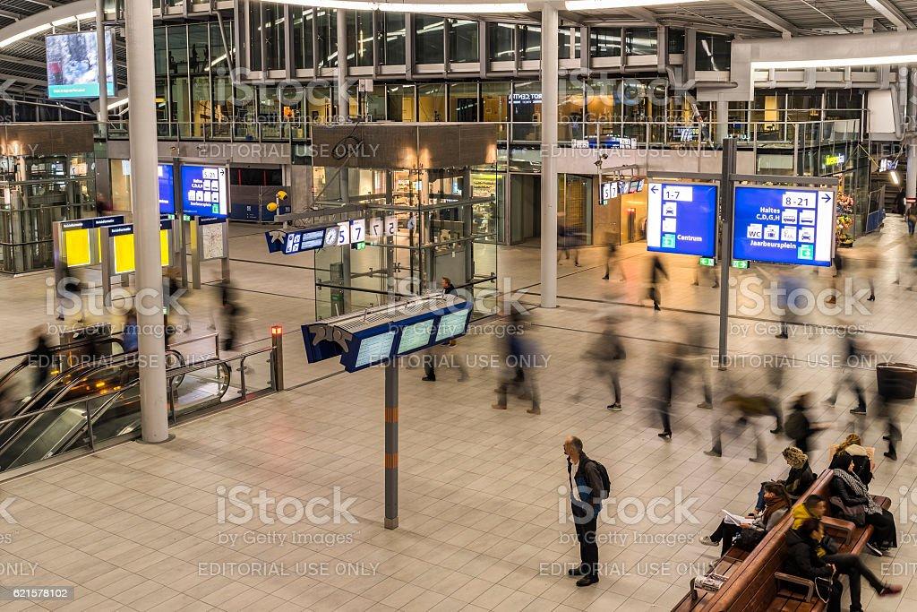 NS Central Station Utrecht photo libre de droits