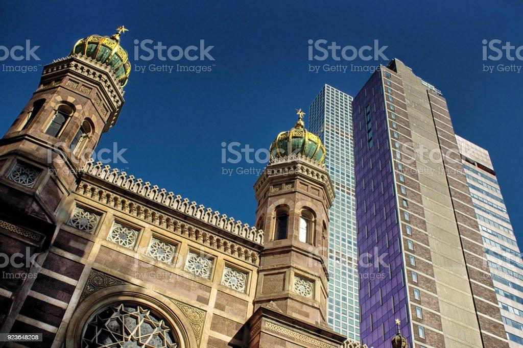 Central Synagogue On Lexington Avenue New York Stock Photo