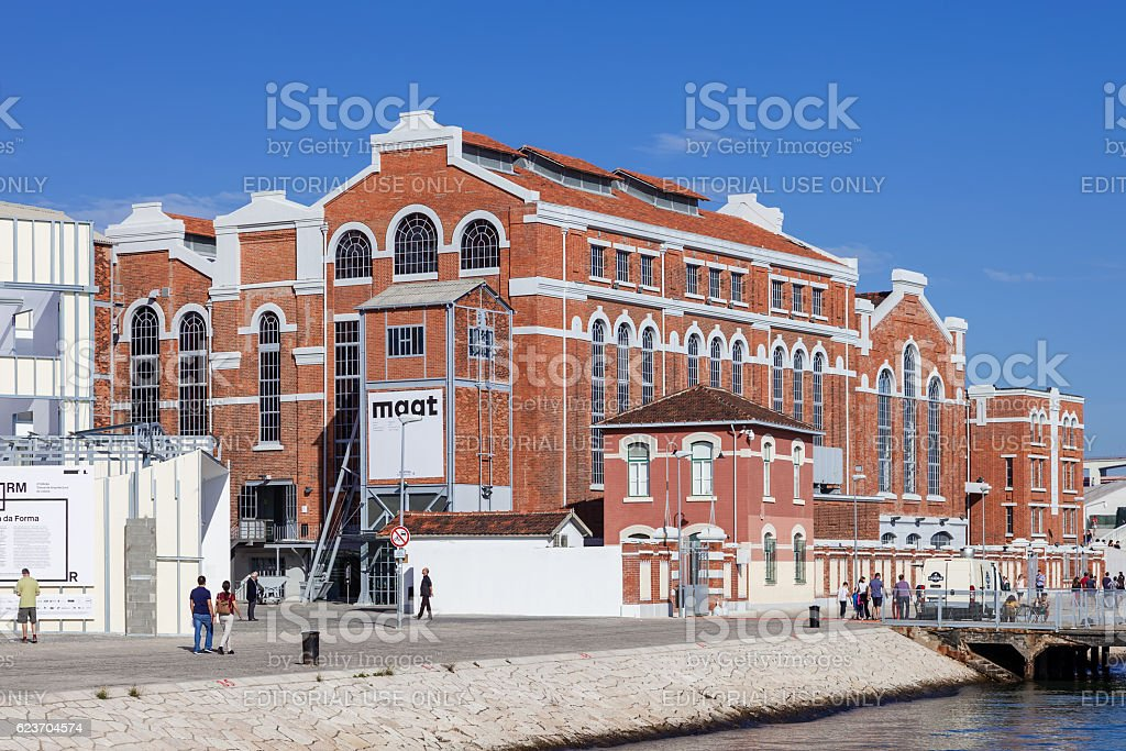Central Tejo, early 20th century power plant stock photo