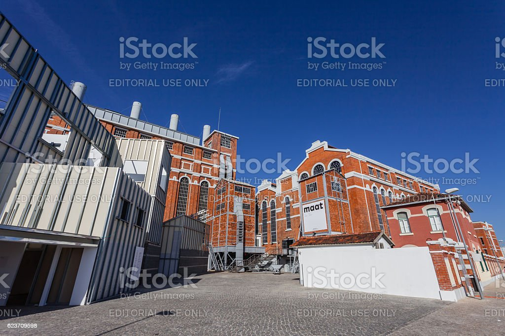Central Tejo, early 20th century power plant.Lisbon. stock photo