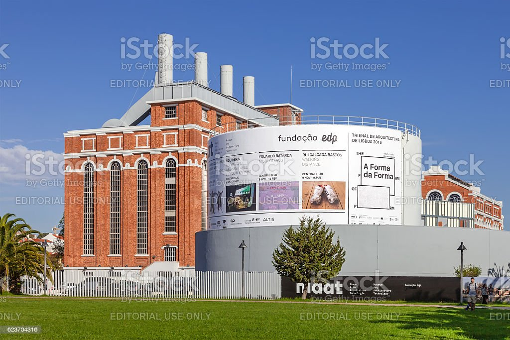 Central Tejo, the early 20th century power plant stock photo