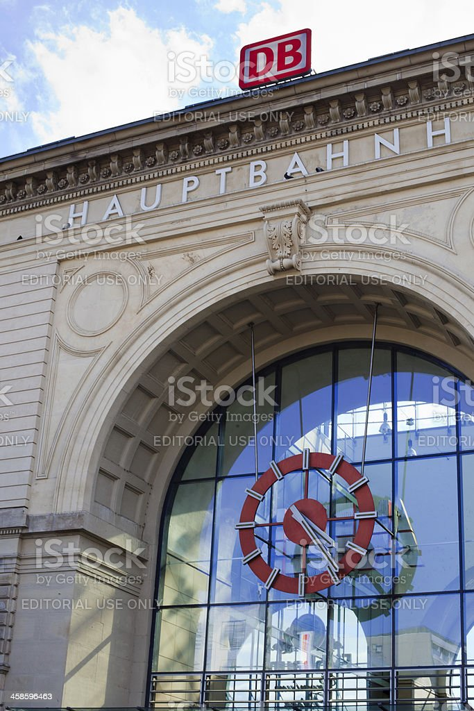 Central Train Station royalty-free stock photo