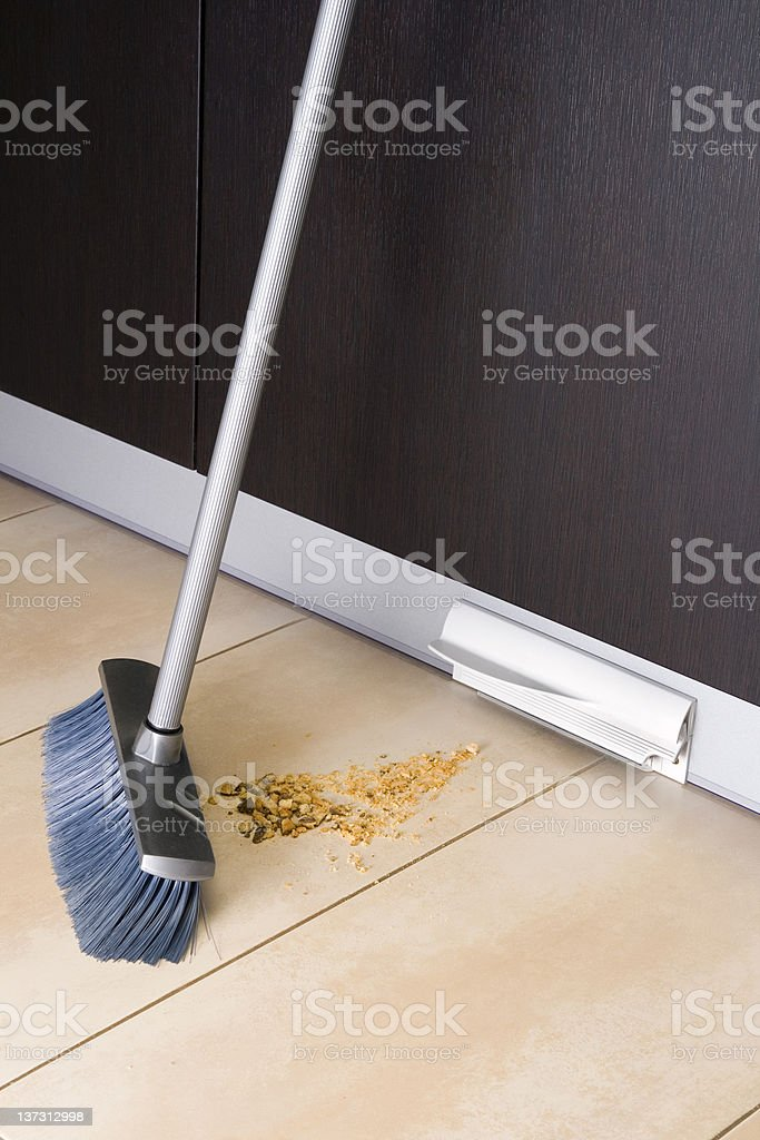 Central vacuum series - automatic dustpan royalty-free stock photo