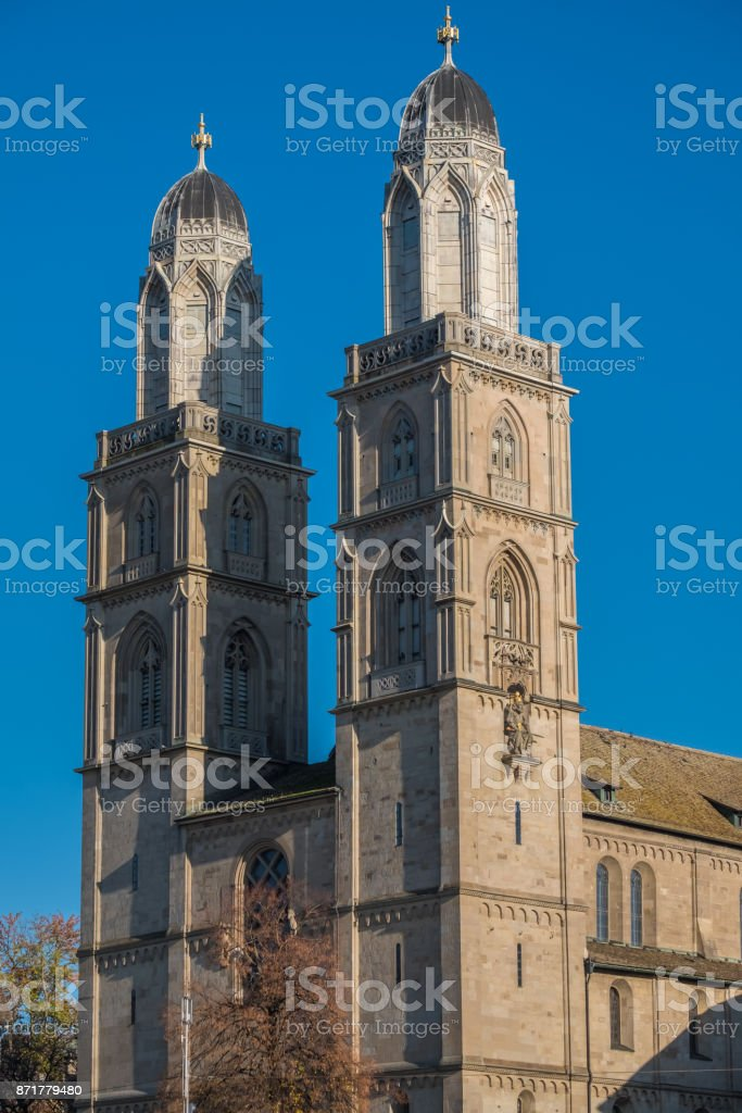 Central Zurich, Switzerland stock photo
