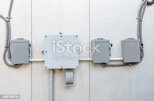 istock Centralization of electrical power 485788750