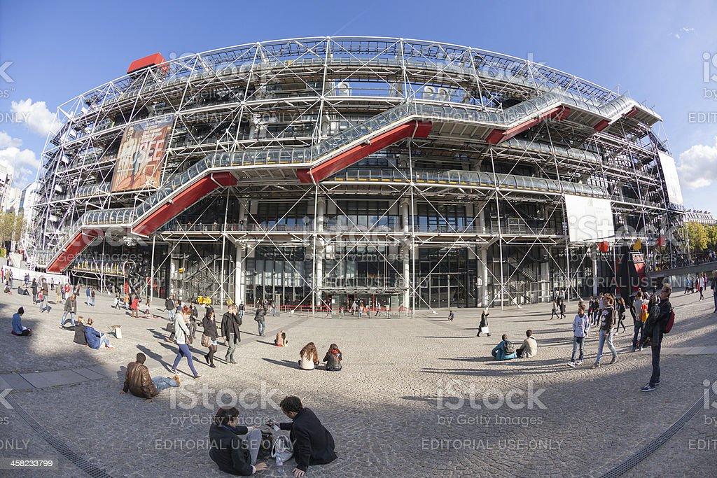 Centre George Pompidou, Paris stock photo
