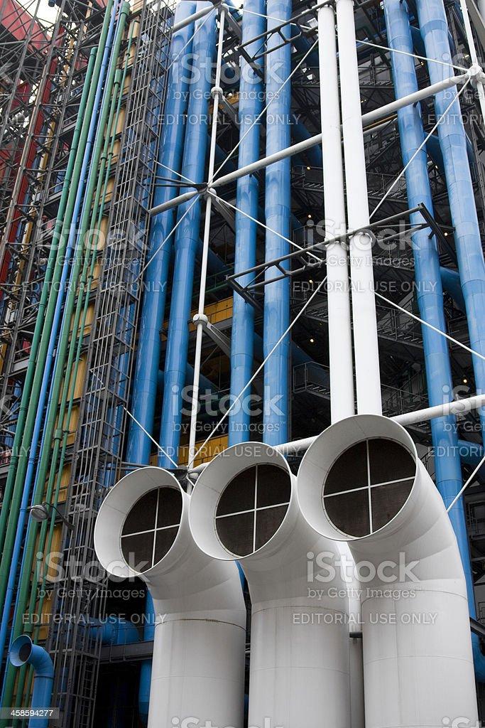 Centre Pompidou, Paris, France stock photo