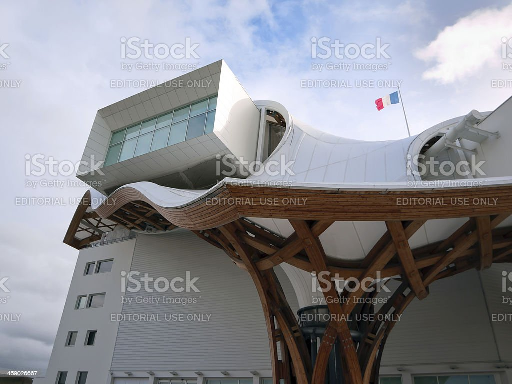 Centre Pompidou,Metz, France royalty-free stock photo