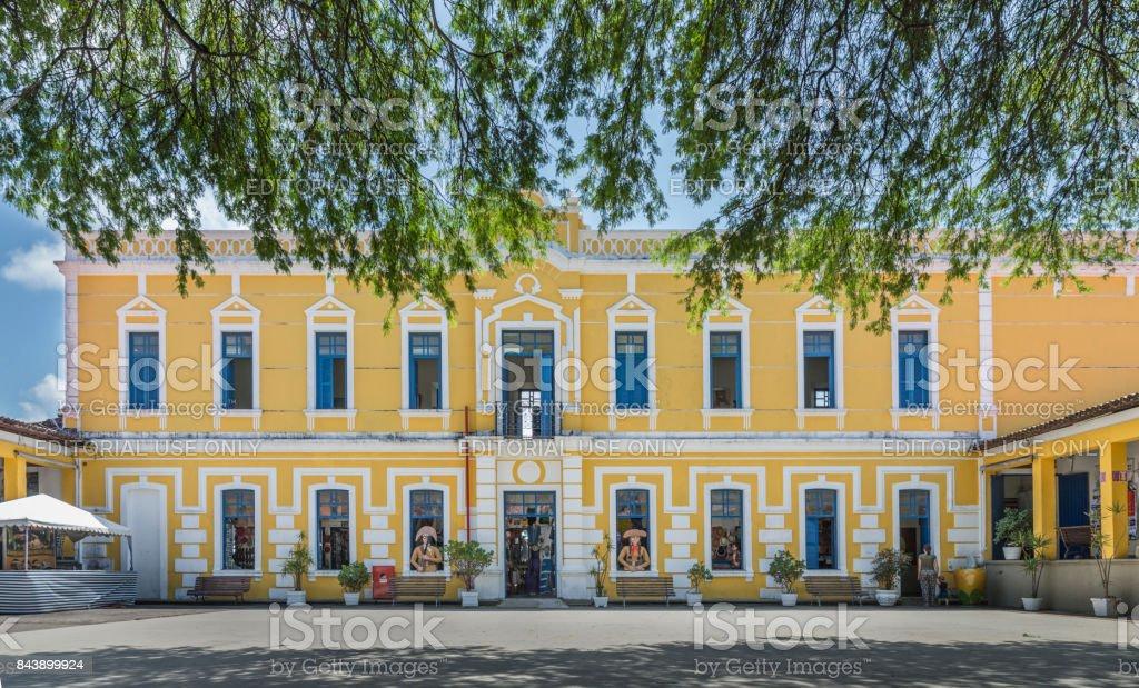 Centro de Turismo de Natal internal facade stock photo