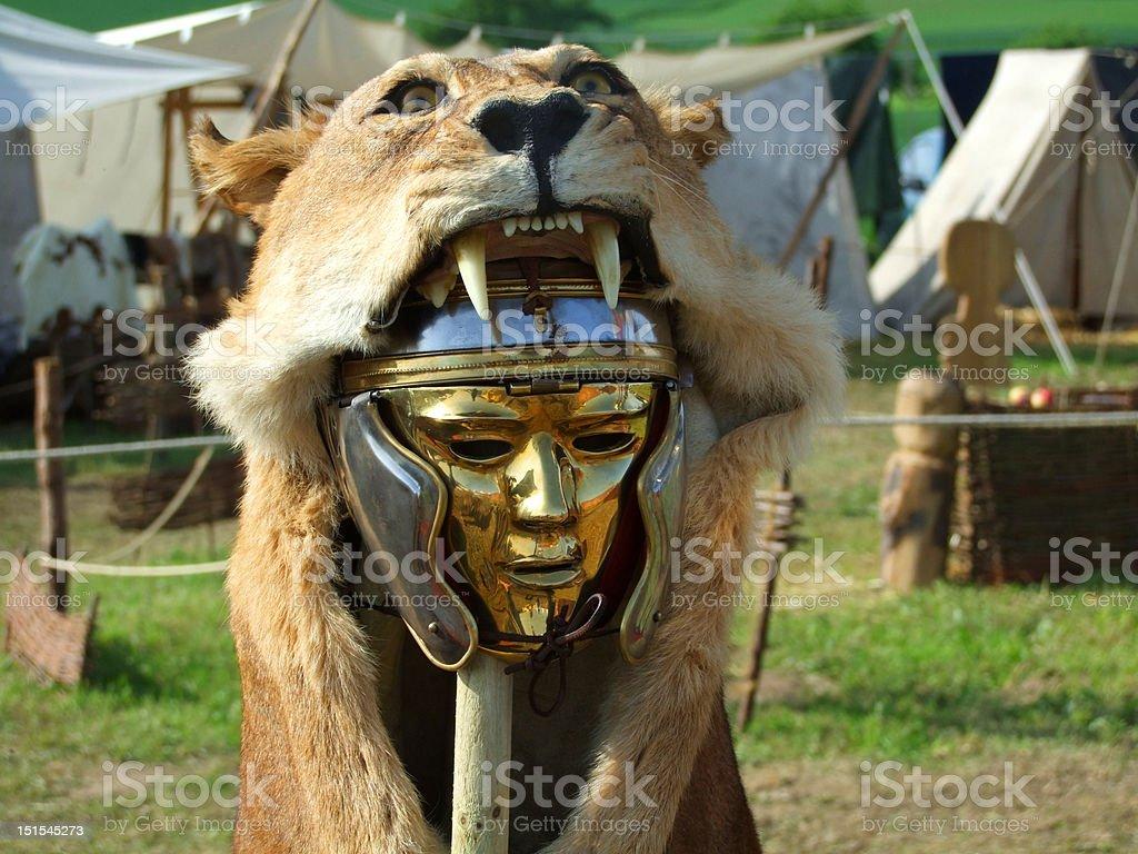 Centurio mask stock photo