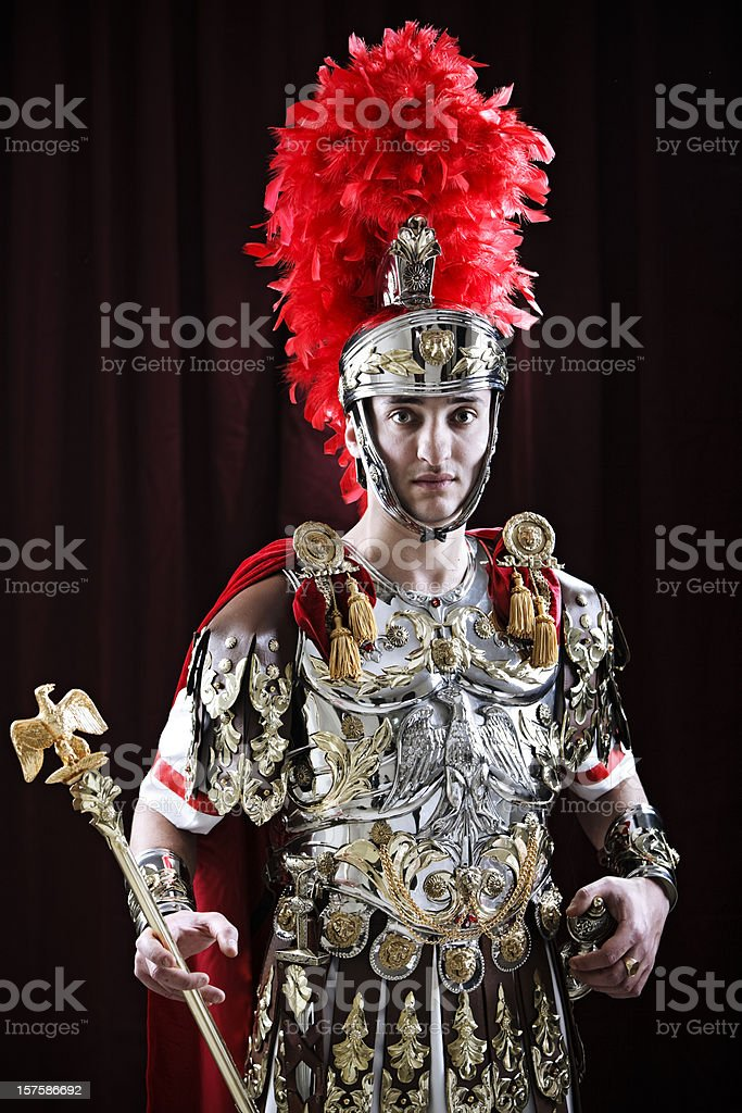 Centurion royalty-free stock photo