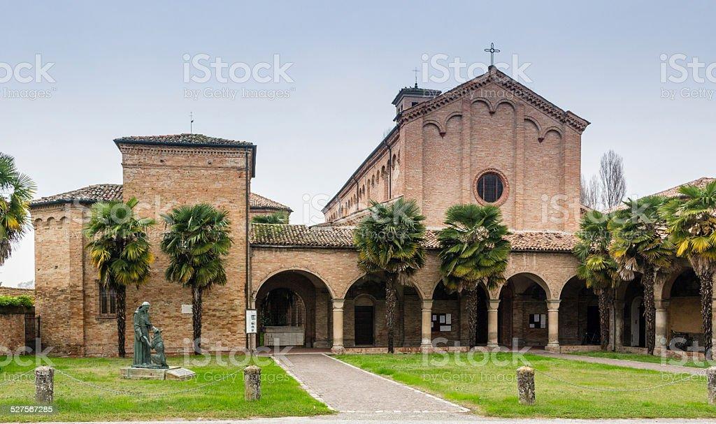 XV century church in Italy stock photo