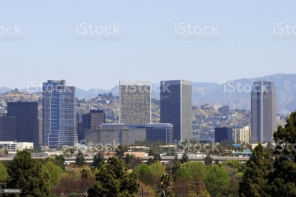 Century City skyline stock photo