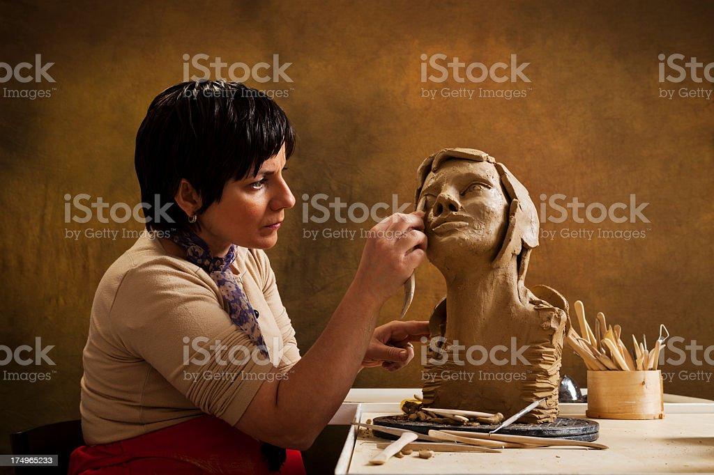 Keramik-Künstler – Foto