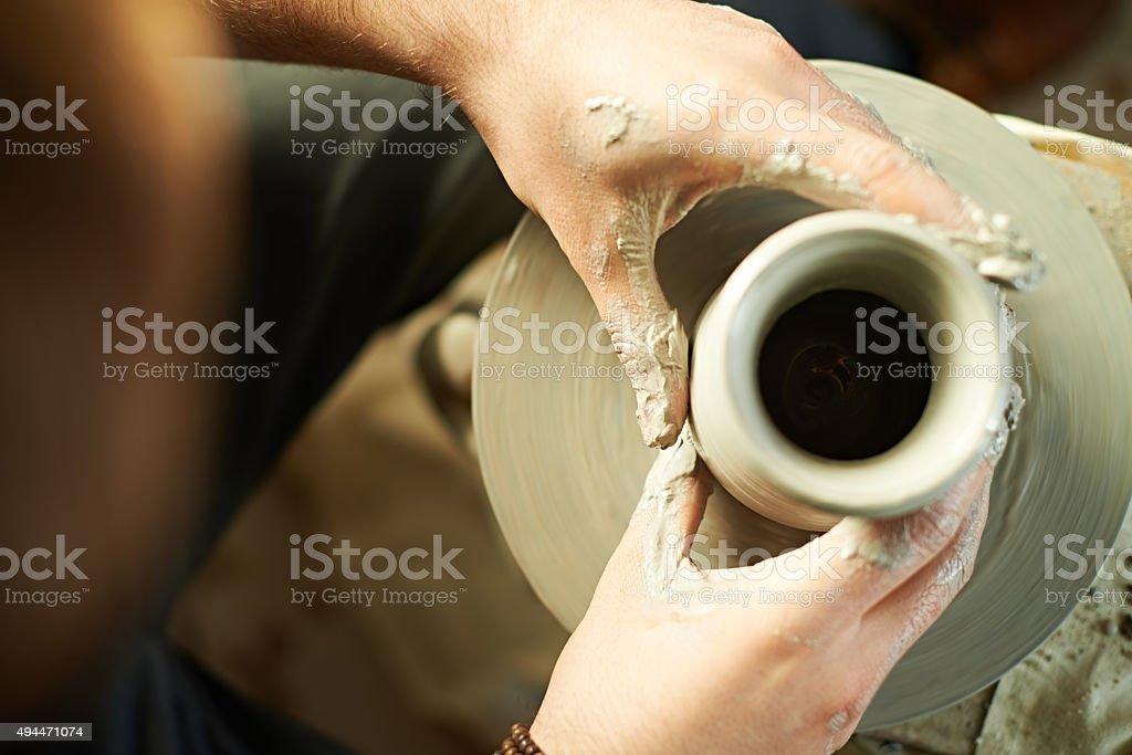 Ceramic arts stock photo