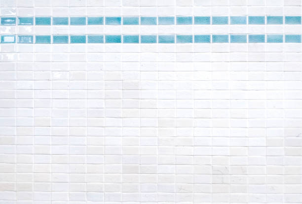 ceramic brick tile wall - tile stock photos and pictures