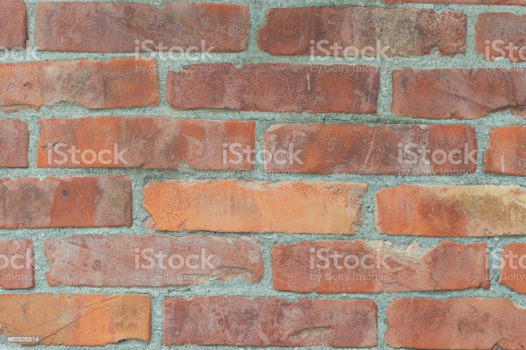 ceramic brick tile wall,seamless brick wall - Royalty-free Architecture Stock Photo