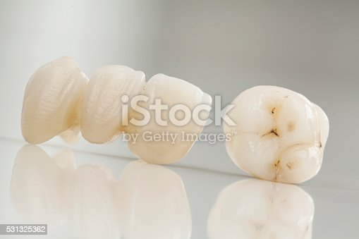 istock Ceramic bridge close up view 531325362