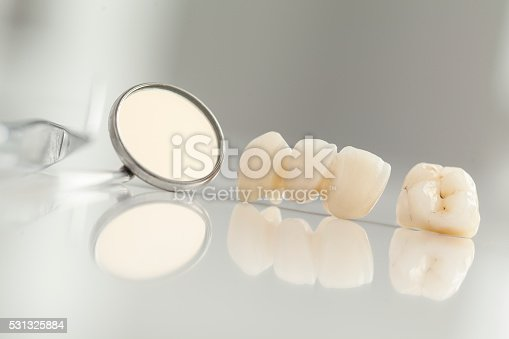 istock Ceramic bridge close up view 531325884
