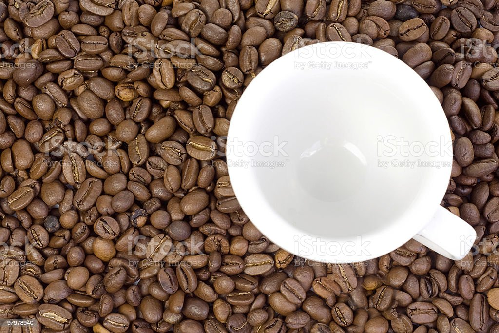 ceramic cup and coffee royalty-free stock photo