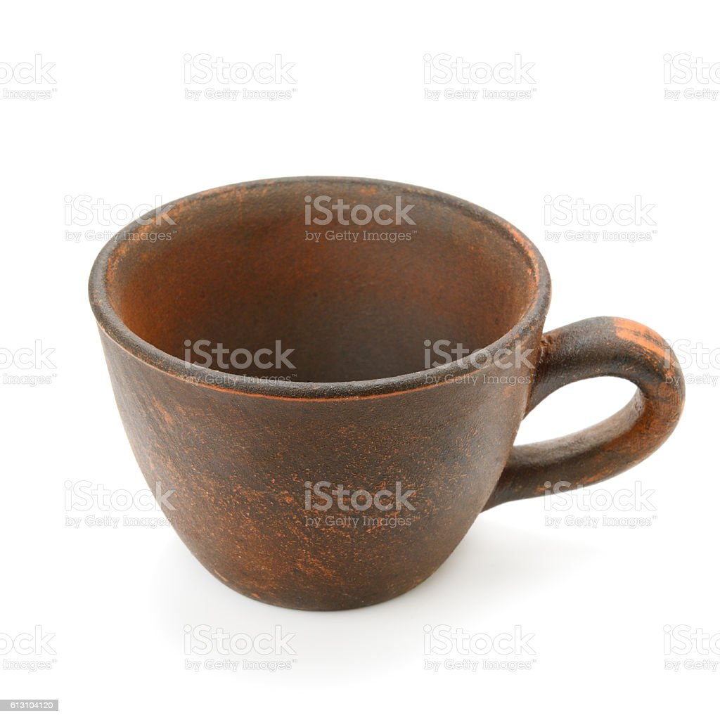 ceramic cup stock photo