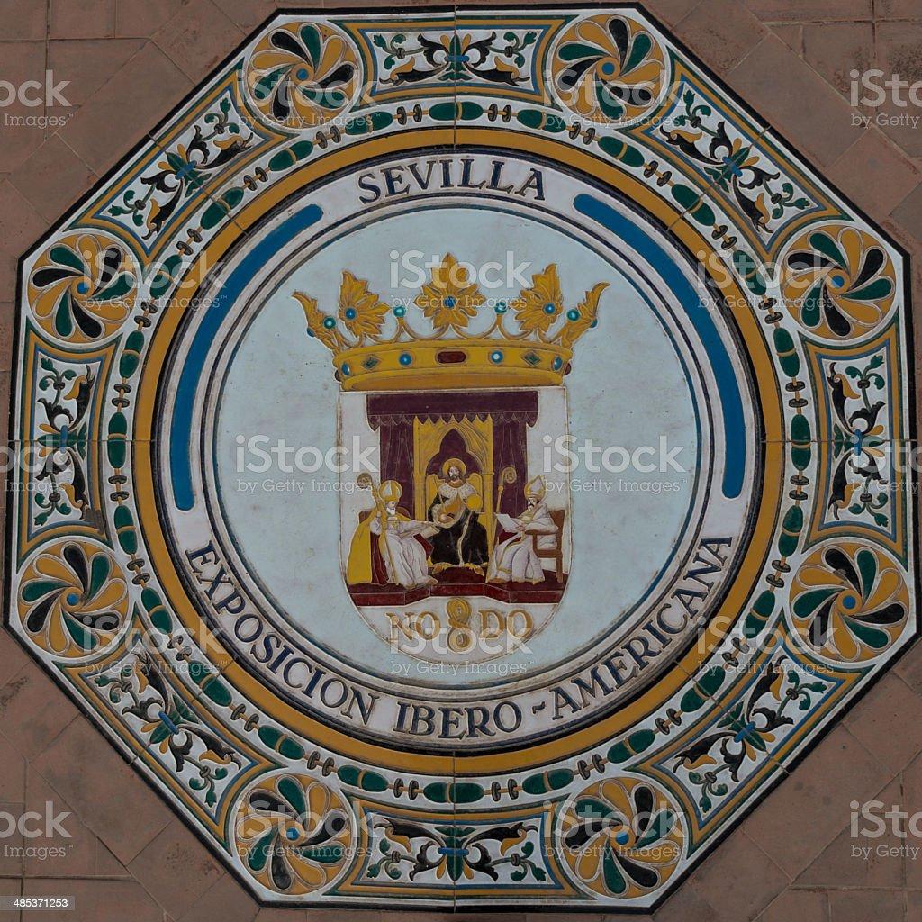 Ceramic decoration royalty-free stock photo