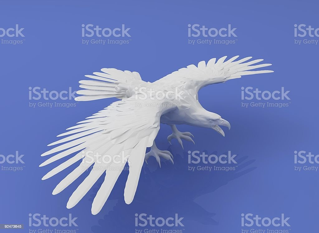 ceramic eagle royalty-free stock photo