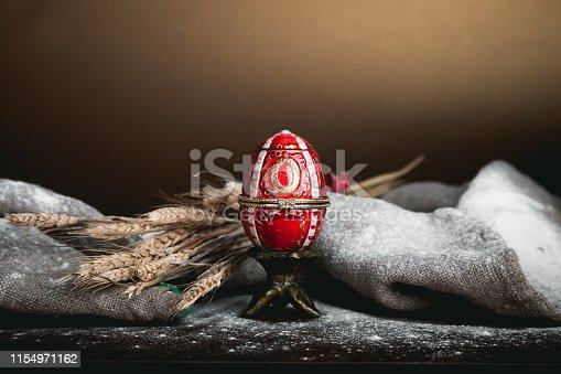 istock Ceramic  easter egg 1154971162