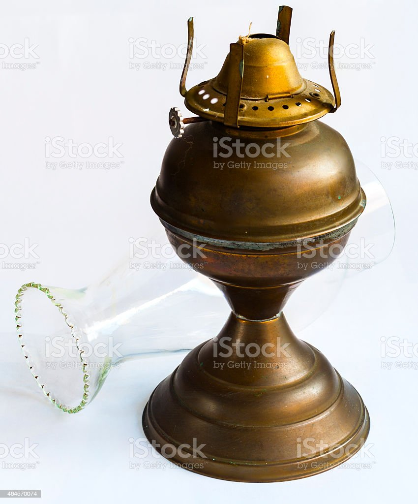 Ceramic Oil Lamps Isolated On White Stock Photo Download Image Now Istock