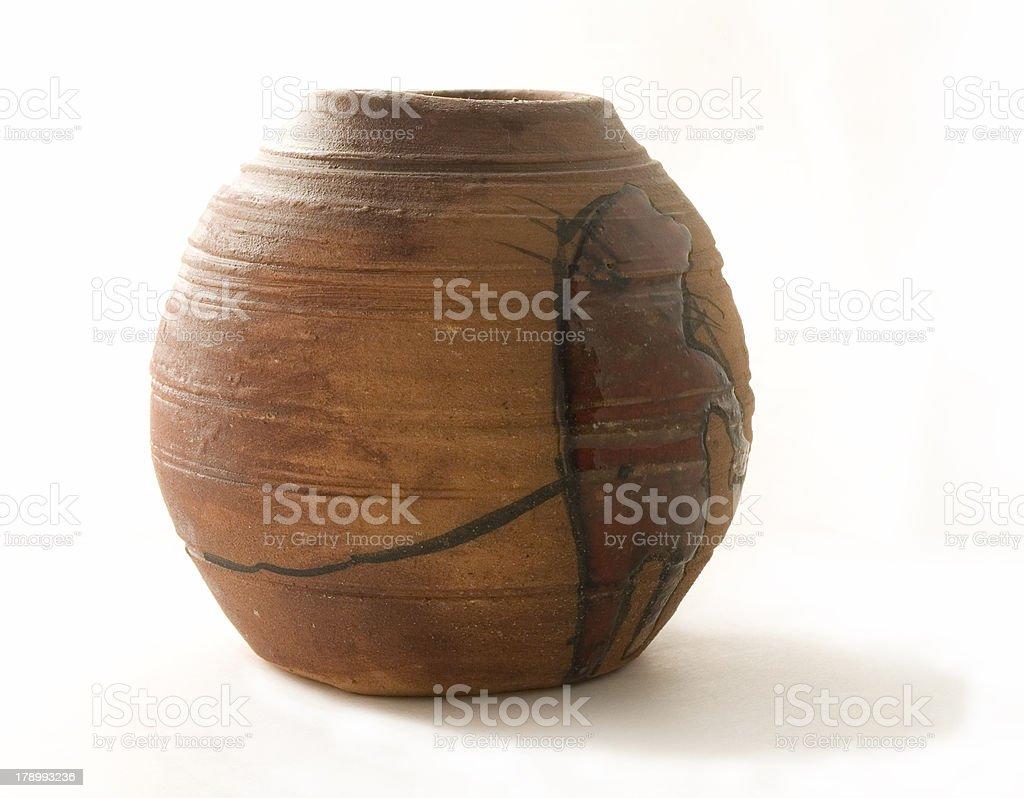 ceramic pot stock photo