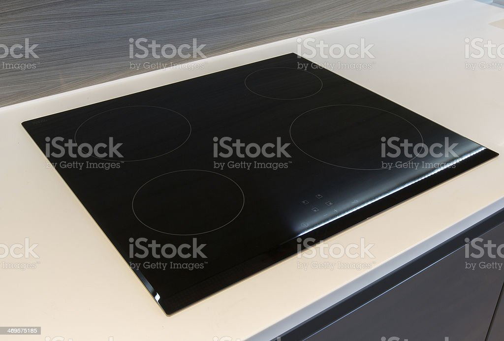 Ceramic Stove / Hob stock photo