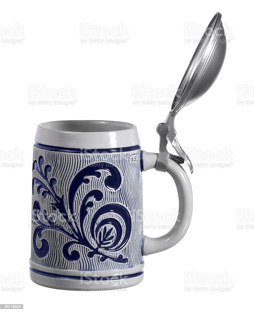 ceramic tankard royalty-free stock photo