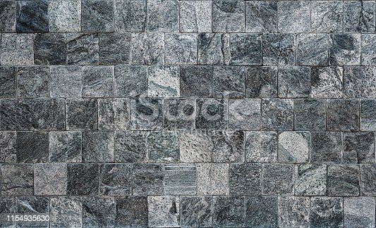 926058102 istock photo Ceramic tile and stone wall Modern wall for bacground and texture 1154935630