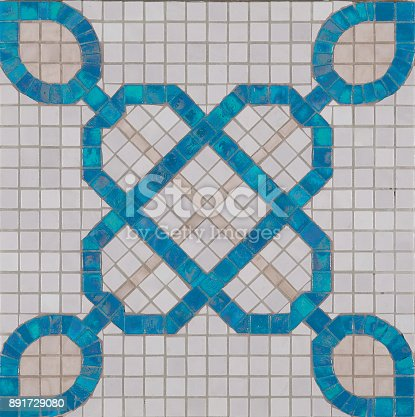 1141967162 istock photo Ceramic tile with colorful patchwork. 891729080