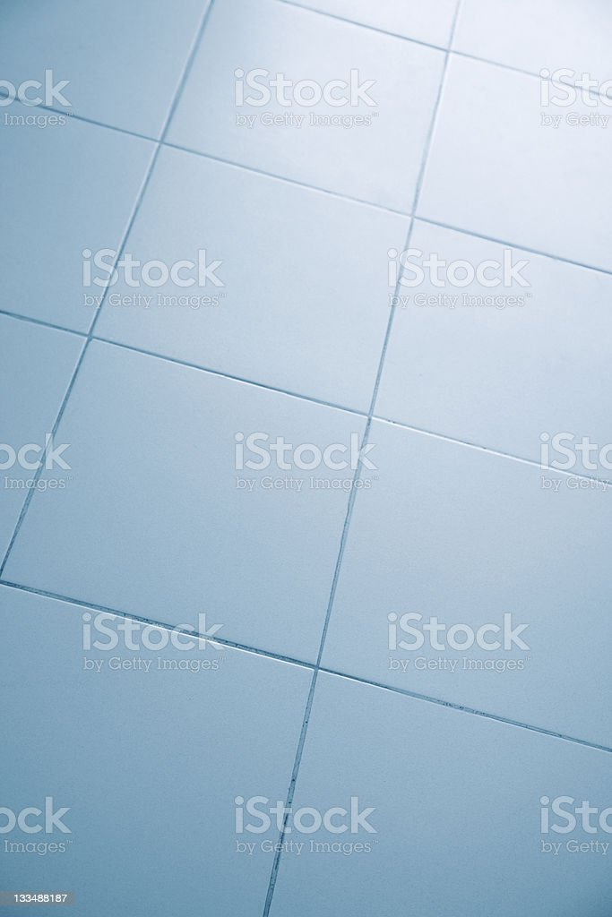 Ceramic tiled floor royalty-free stock photo