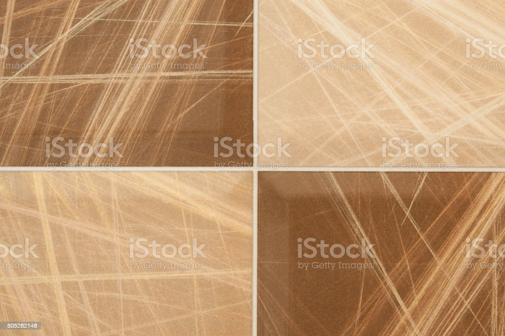 Ceramic Tiles Of Different Types Colors And Shapes Stock Photo