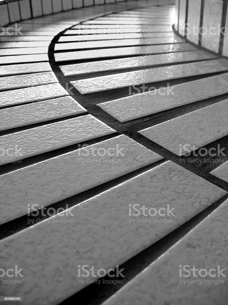 Ceramic Tiles Pattern royalty-free stock photo