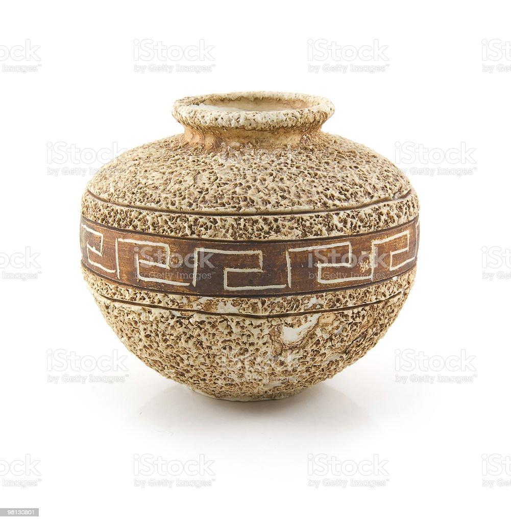 Ceramic vase royalty-free stock photo