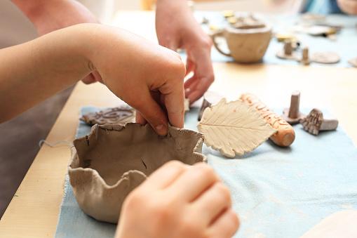 Ceramic workshop for children