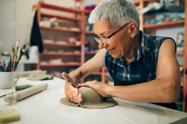 Ceramics Workshop stock photo