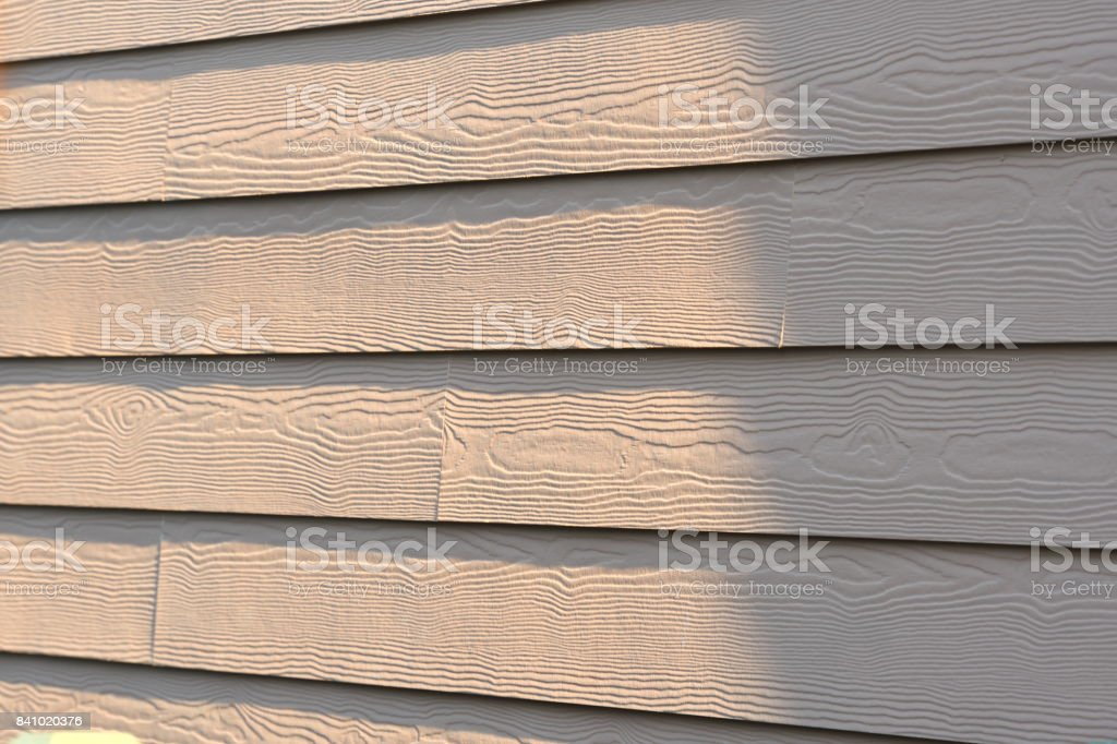 Cerber Fiber Cement Siding stock photo