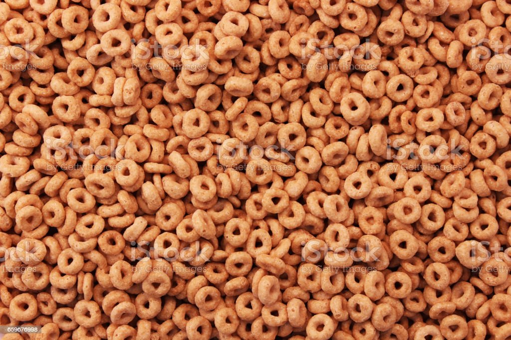 Cereal Background stock photo