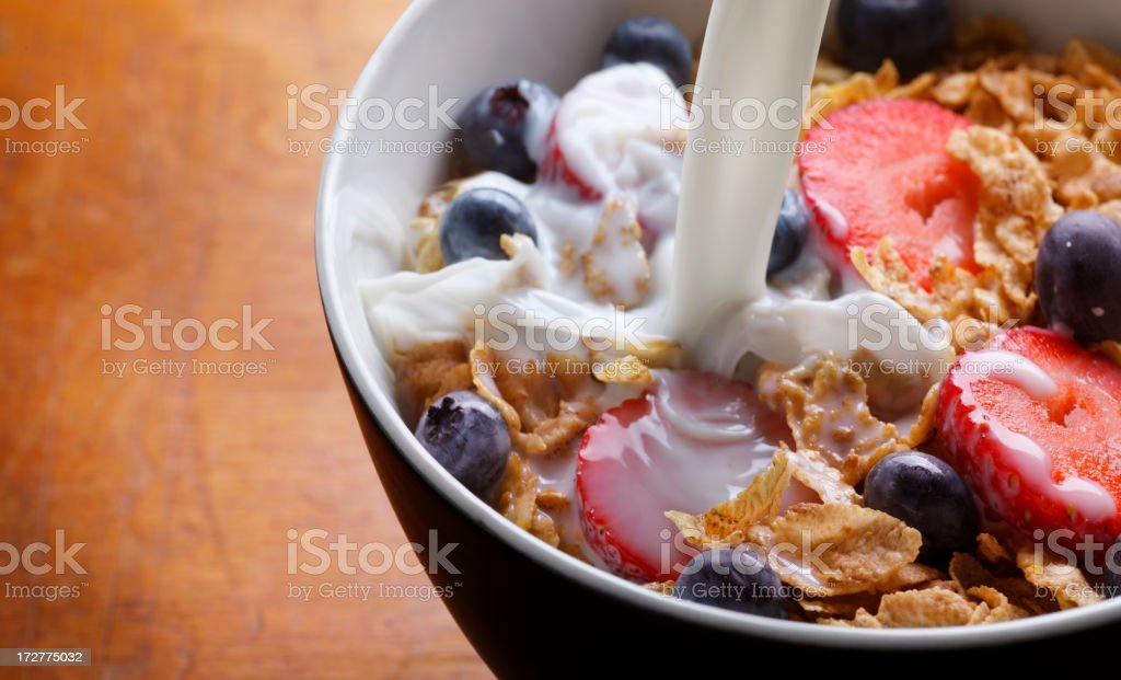 Cereal Bowl royalty-free stock photo