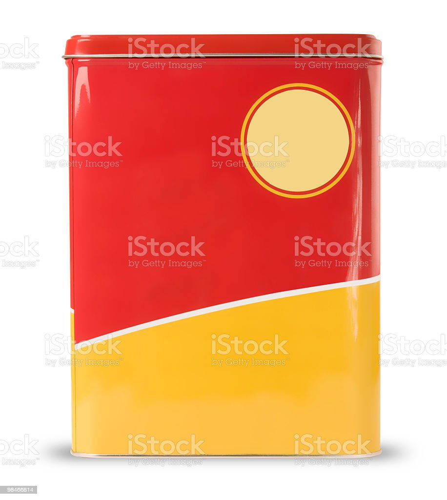 Cereal Box with clipping path royalty-free stock photo