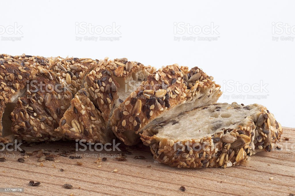 Cereal Bread royalty-free stock photo