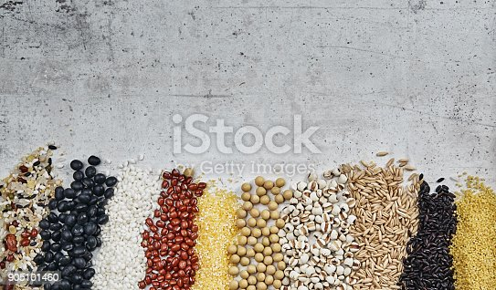 istock Cereal grains , seeds, beans 905101460